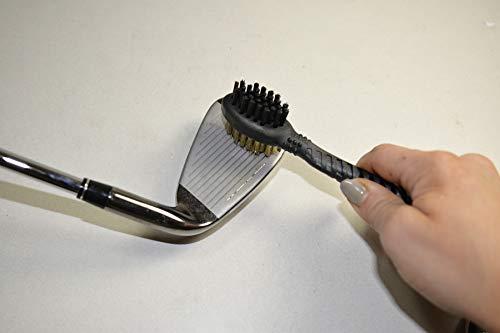 Champ Dual Brush, Black, Clamshell of 1 set
