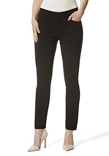 Stooker Florenz Damen Stretch Jeans Hose Slim FIT Style - [Black Denim] (46/28)