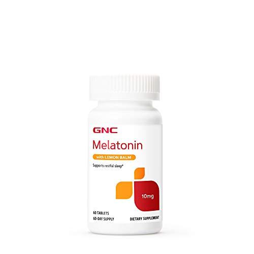 GNC Melatonin with Lemon Balm 10 mg