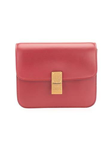 Céline Luxury Fashion Donna 192523DLS27OR Rosso Pelle Borsa A Spalla | Autunno-inverno 20