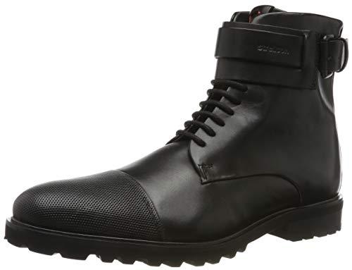Strellson Herren New Brown Boot tfu 1 Klassische Stiefel, Schwarz (Black 900), 43 EU