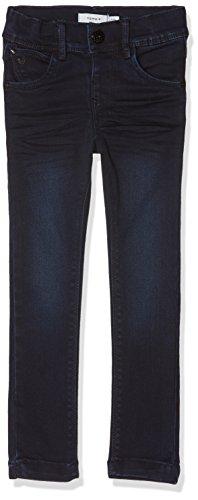 NAME IT NAME IT Mädchen NMFPOLLY DNMCARLIA 3088 Pant Camp Jeans, Blau (Dark Blue Denim Dark Blue Denim), 92