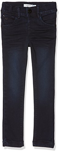 NAME IT Mädchen NMFPOLLY DNMCARLIA 3088 Pant Camp Jeans, Blau (Dark Blue Denim Dark Blue Denim), 92