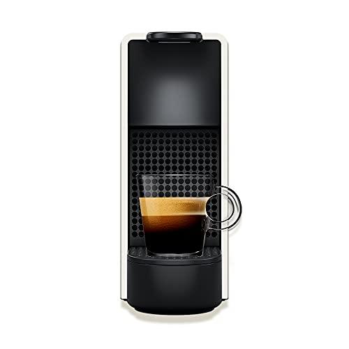 Nespresso Essenza Mini Cafeteira 110V, máquina de café Espresso compacta para casa, máquina de cápsula / cápsula elétrica automática (branca)
