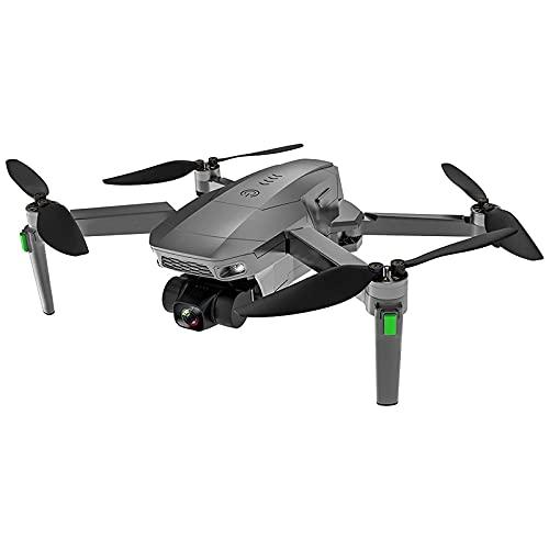 GZTYLQQ Drone per Fotografia Aerea Senza spazzole Gimbal autostabilizzante a Tre Assi Ritorno Automatico a casa Aereo telecomandato, Scatola dei Colori, Doppia Antenna