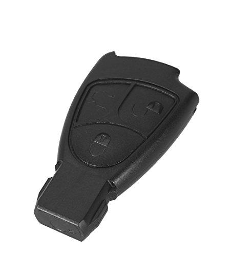 PHONILLICO Autoschlüssel Ersatz Fernbedienung Schlüssel Für Cle Mercedes Benz Classe B C E S CLS CLK ML SLK CL Schlüsselanhänger Flip mit 3 Tasten