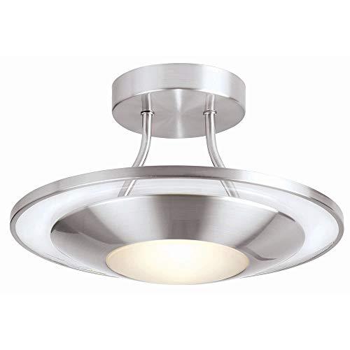 ENDON Infinity 80124 - Lámpara de techo (8 x 28 W, G9)