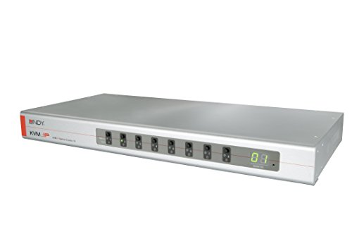 KVM Switch Combo 8-8 Port Server Switch mit Dual Console KVM-Over-IP Option