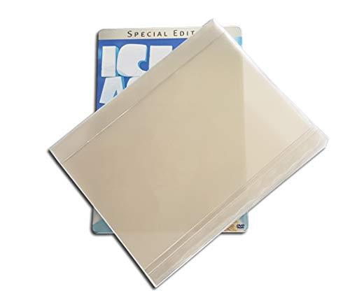 DVD Klarsichtschuber für DVD Steelbook Protected (10 Stück)