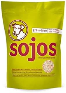 Sojo's Grain-Free Ready-To-Mix Dog Food - Fruit & Veggie 2 lb.