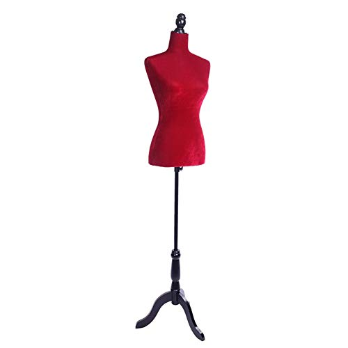 Maniqui Maniquí de Cuerpo Espuma Roja Forma del Vestido del maniquí de Mujer de Cuerpo Busto maniquí de Alta Bustos y maniquies for la Ropa de visualización