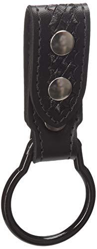 Safariland 730 Heavy Duty Flashlight Carrier, Black, Basketweave