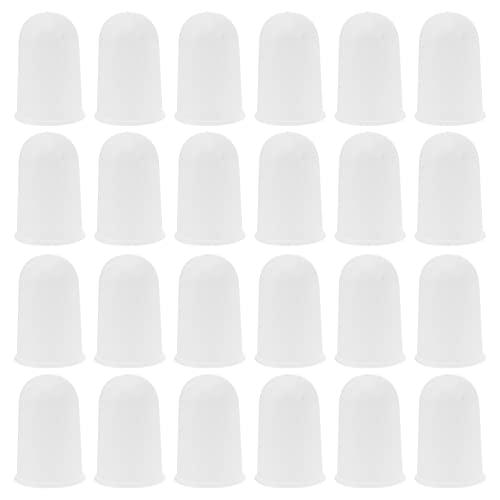 iplusmile 50 Piezas de Capuchones de Alcohollamp Tapas de Plástico para Quemador Tapas de Repuesto para Lámpara Cubierta Superior de Aparatos de Prueba
