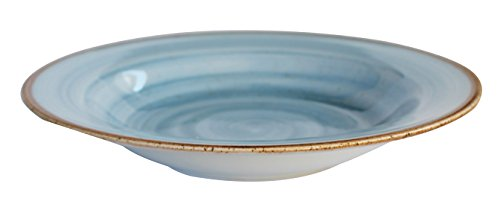 Corona Artisan Plato, Porcelana, Azul, 23 cm