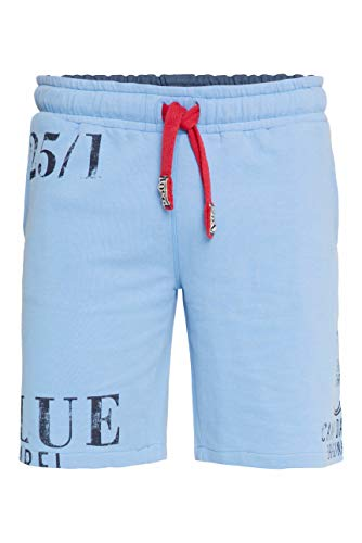 Camp David Herren Sweat-Shorts mit Label Prints