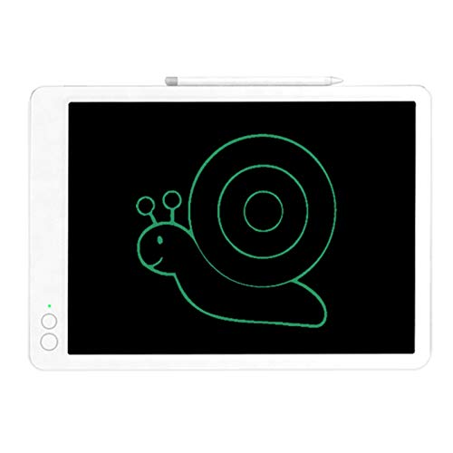Hylotele Tablero de Escritura LCD Tableta de Escritura LCD, Tableta gráfica electrónica, Tablero de Dibujo y escrituracompatible withel hogar, la Escuela, la Oficina, 13.5 Pulgadas