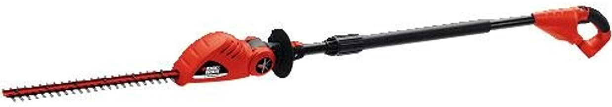 BLACK+DECKER 20V MAX Cordless Hedge Trimmer, 18-Inch, Tool Only (LPHT120B)