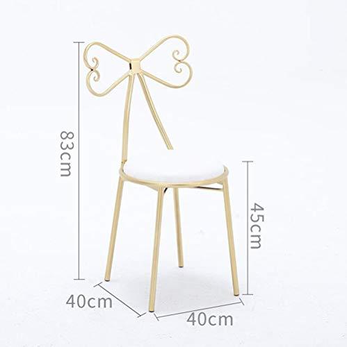 FENG Barstoel/barkruk moderne casual gouden restaurant eettafel stoel/bureaustoel/hoge kruk/rugstoel FFN