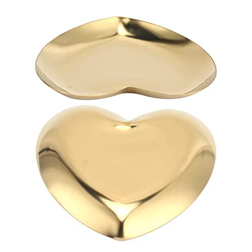 Mini bandeja de almacenamiento, bandeja de exhibición de plato de almacenamiento lindo para joyería para pulseras para pendientes para collares