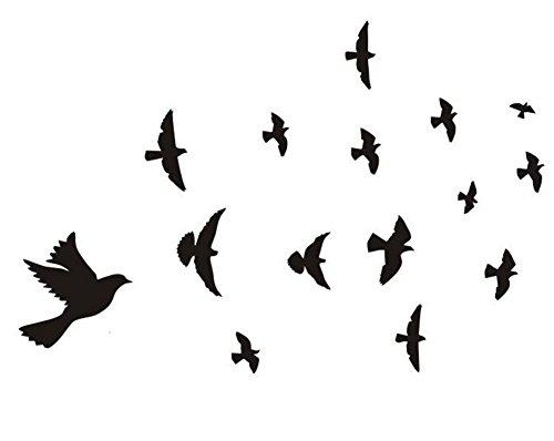 Nvfshreu stickers zwart en schetsen zelfklevende lijm decoratieve plakband keramische tegel DIY eenvoudige stijl raamafbeeldingen raamfolie (badkamers met kinderen)