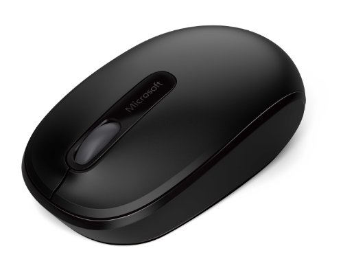 Microsoft Wireless Mobile Mouse 1850 - Black (U7Z-00001)