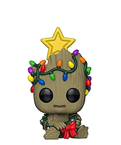 Popsplanet Funko Pop! Marvel - Groot (Holiday) (Sitting) (Glow in The Dark) Exclusive to Special...