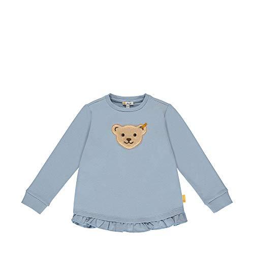Steiff Mädchen Sweatshirt, Blau (Forever Blue 6027), (Herstellergröße:104)