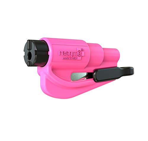 Resqme GBO-RQM-PINK Das Rettungswerkzeug als Schlüsselanhänger, Rosa (Pink), 1 Set