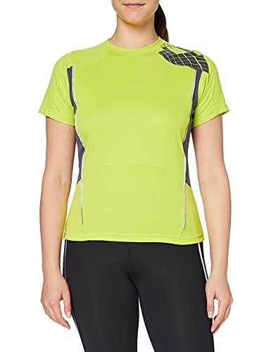 Spiro Camisa de Entrenamiento para Mujer, Mujer, Camisa, S176FNLGYS, Azul Claro, S