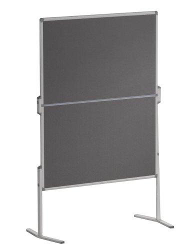 Franken MT880312 Moderationstafel Pro (120 x 150 cm, filz grau