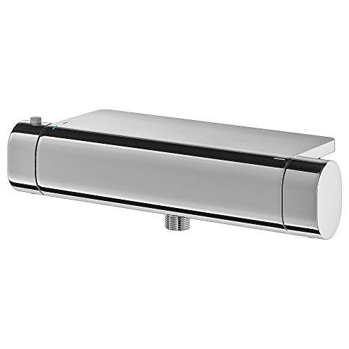 BROGRUND termostatyczny mieszacz prysznicowy 30 x 11 cm chromowany