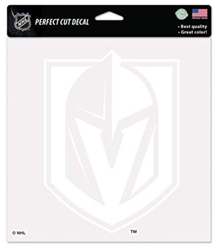 NHL Las Vegas Golden Knights Logo 4' x 4' inch Outdoor White Decal