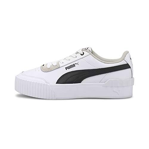 PUMA Carina Lift, Zapatillas Mujer, Blanco White Black, 40 EU