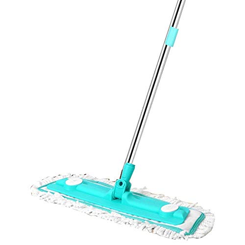 Lowest Price! 360 Spinning Mop,Flat Mop Floor Cleaning Mop Red Sweeper Mop for Home Kitchen Floor Cl...
