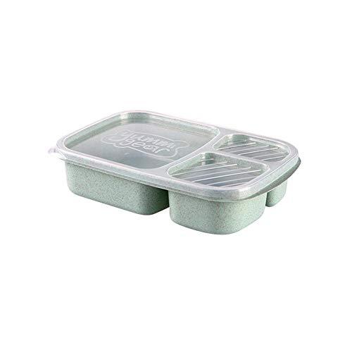 Foshuo Bento Box Termico,Contenitori per Alimenti Scatola per Pranzo per Bambini Pasto Snack Storage Bento Box Contenitore per Alimenti Bento Lunch Box To Go Lunch Box più freschi Cena