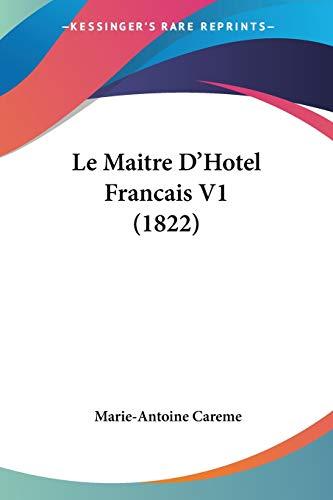 Maitre D'Hotel Francais V1 (1822)