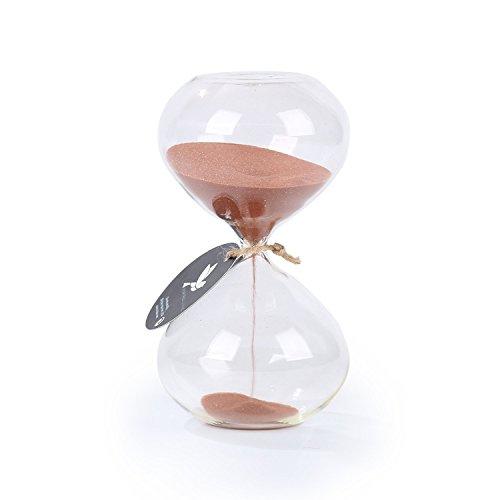 Biloba, timer/clessidra con sabbia, Cocoa, 6 Inch, 60 Minutes(+/-360 Second)
