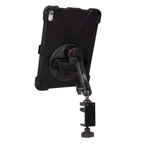 The Joy Factory Single Arm Clamp Mount + Reinforced Protection for iPad Pro 11 (2018)