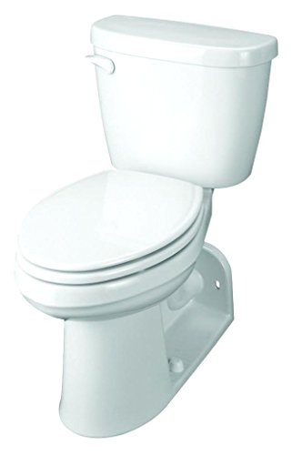 Gerber G0020022 Maxwell 2 Piece Compact Elongated Toilet in...