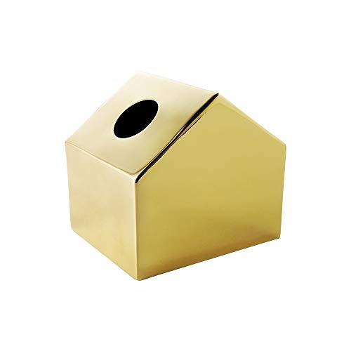 SXXYTCWL Caja de tejido Metal Poder Casa Pequeña Caja de pañuelos Decoración del hogar Decoración Sala de estar Sala de estar Caja de pañol Rollo a prueba de agua y a prueba de polvo Caja de tejido (d