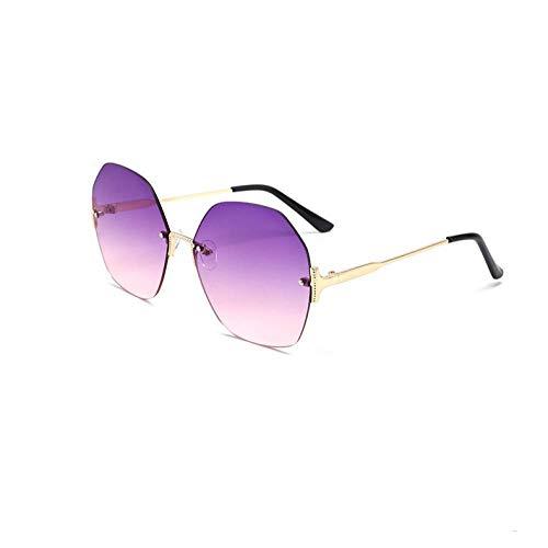 HZFZ Gafas De Sol Sin Marco De Moda Gafas De Sol De Mujer