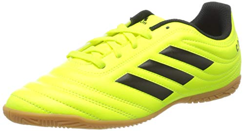 adidas Unisex F35451_38 Indoor Football Trainers, Yellow, EU