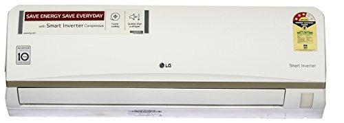 LG 1 Ton 3 Star Inverter Split AC (JS-Q12ATXD, White)