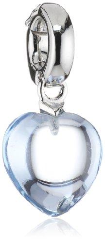 VIVENTY Damen-Charm Herz Sterling-Silber 925 760322
