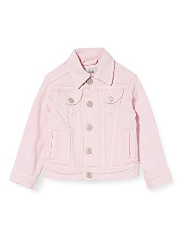 Pepe Jeans New Berry Chaqueta de jean, Rosa (Bleach Pink 307), 4-5 años para Niñas