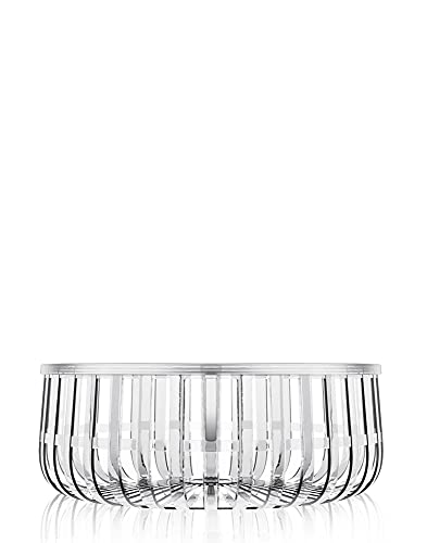 Kartell Panier Cesto Contenitore, Trasparente (Cristallo), 61 X 21 cm