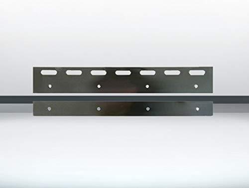 Montagependel/Halteklammer 300mm Edelstahl für PVC Streifenvorhang Lamellenvorhang