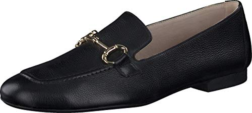 Paul Green Damen SUPER Soft Loafer 2596, Frauen Slipper, College Schuh businessschuh weibliche Lady Ladies feminin elegant,Black,6.5 UK / 40 UK