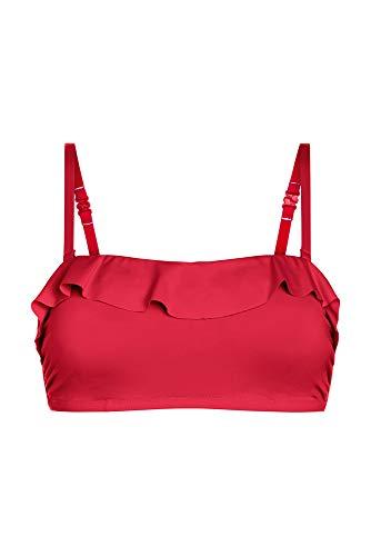 Amoena Damen Malta Bikinioberteil, rot, 44 DE/C