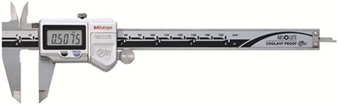 "Mitutoyo 500-752-20, Digimatic Caliper, 0-6"", IP67, 0005"" 0/01 mm No SPC"